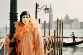 Clown In Venice — Stock Photo