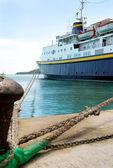 Greek ferry — Stock Photo
