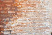 Authentic brick wall from Venice — Stock Photo