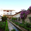 Garden in Alhambrin Granada, Spain — Foto de stock #10555362