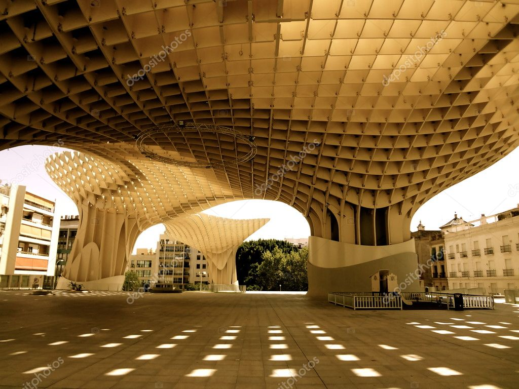 Arquitectura moderna en sevilla espa a foto de stock for Arquitectura de espana