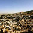 Overlook of Granada, Spain — Stockfoto #10571261