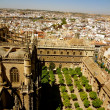 View of Seville, Spain from Cathedral — Stock Photo
