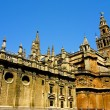 Spanish Architecture in Seville, Spain — Stock Photo