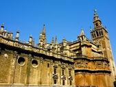 西班牙塞维利亚,西班牙的建筑 — 图库照片