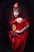 The queen of hearts — Stock Photo