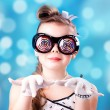 Royalty-Free Stock Photo: A girl in glasses