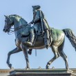 Statue of Frederick the Great (Frederick II of Prussia) in Berlin — 图库照片