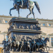 Statue of Frederick the Great (Frederick II of Prussia) in Berlin - Stock Photo