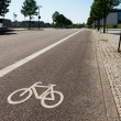 Bike lane — Foto de stock #10694432