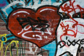 Graffiti-textur — Stockfoto