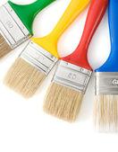 Paintbrush isolated on white — Stockfoto