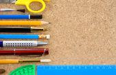Verktyg för skola och kontor — Stockfoto