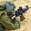 M16 Israel Army Rifle Soldier — Stock Photo #10511339