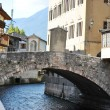 The Roman Bridge - Stock Photo