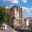 Stock Photo: Palace of the Popes in Avignon, France