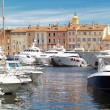 Yacht Harbor of St.Tropez, France — Stock Photo