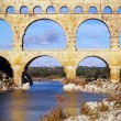 Aqueduct Pont du Gard — Stock Photo