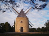 Windmill in the south of France — Stock Photo