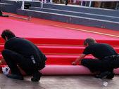 Il red carpet — Foto Stock