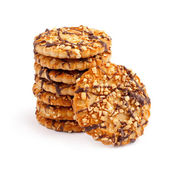 Cookies on a white background — Stockfoto
