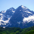 Maroon Bells Early Summer 2 — Stock Photo