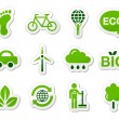 Stock Vector: Green / eco icons