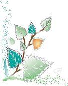 叶子 — 图库矢量图片