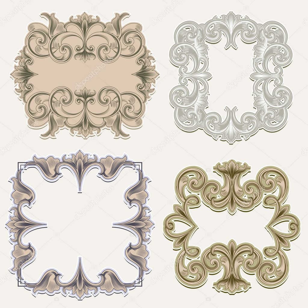 Vintage Ornate Vector Vintage Ornate Vector Frame