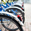 Bicycles in sequence — Stock Photo #10703259