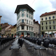 Stock Photo: Theater in ljubljana