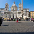 Stock Photo: Rome,navonsquare