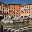 Rome,navona square - Stock Photo