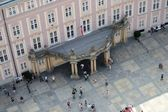 View from the tower of St Vitus Cathedral — Stock Photo