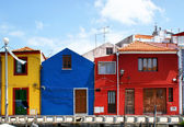 Traditional colorful houses — Stock Photo