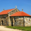 Lanzada church - Stock Photo