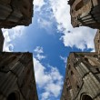 Abbey of Saint Galgano, Tuscany - Italy - Stock Photo