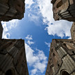 Abbey of Saint Galgano, Tuscany - Italy — Stock Photo
