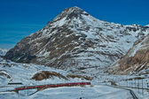 Bernina, Swiss alp — Stock Photo