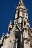 Steeple of Baroque Church — Stock Photo