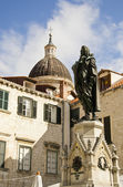 Statue of Francesco Giovanni Gondola — Stock Photo