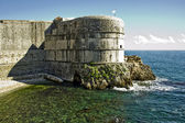 Dubrovnik Fortress by the sea, Croatia — Stock Photo