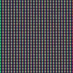 Seamless macro of LCD pixels — Stock Photo