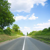 Empty road — Stock Photo