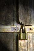 さびた南京錠 — ストック写真