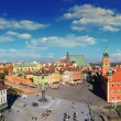 Warsaw panorama — Stock Photo