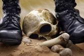 戦争と残酷さ — ストック写真