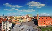 Warsaw panorama — Stock Photo