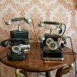 Stock Photo: Old telephones