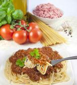 Spaghetti pasta — Stockfoto